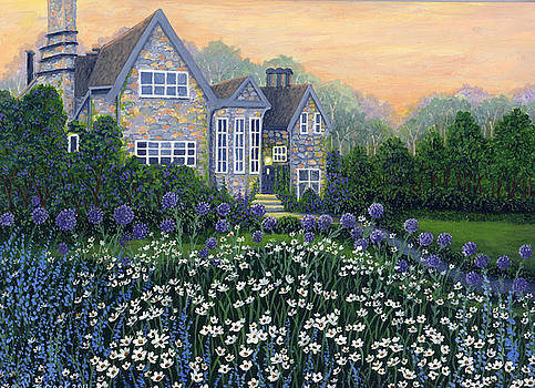 English Cottage by Bonnie Cook