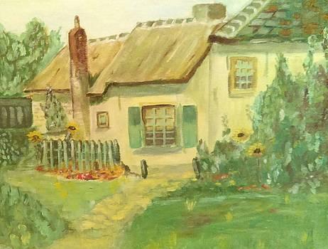 Ilona MONTEL - English Cottage
