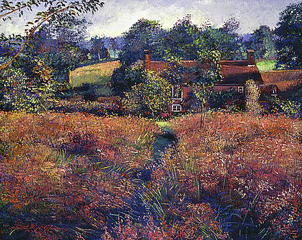English Country Fields by David Lloyd Glover