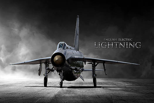 English Electric Lightning by Peter Chilelli