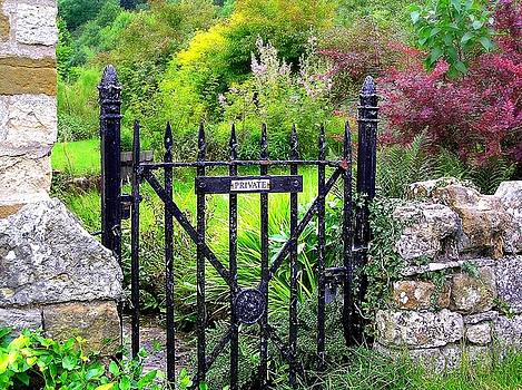 English Garden Gate by Jen White
