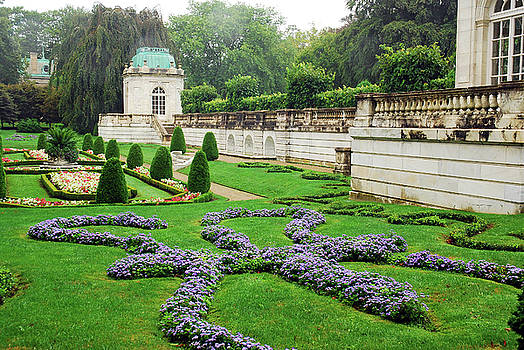 English Garden by James Kirkikis