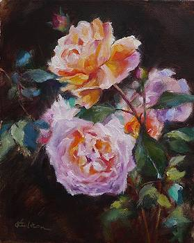English Roses by Veronica Coulston