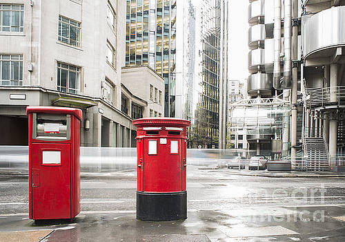 English style mailboxes by Deyan Georgiev
