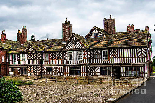 Historic Tudor Timbered Hall by Brenda Kean