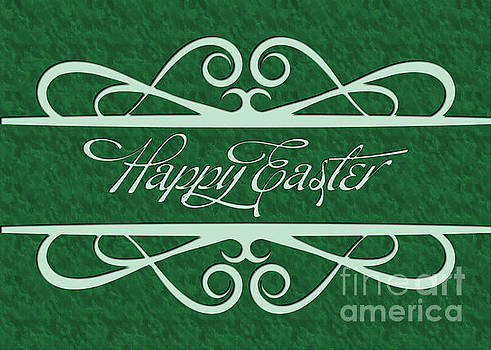 Engraved Happy Easter by JH Designs