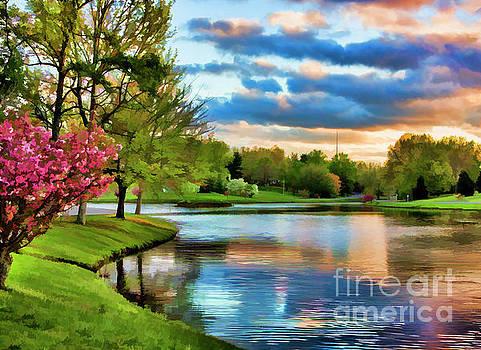 Chuck Kuhn - Enhanced Landscape Lake Sky Trees