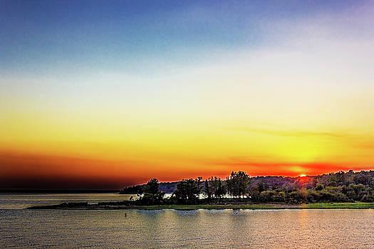 Enid Sunset by Barry Jones