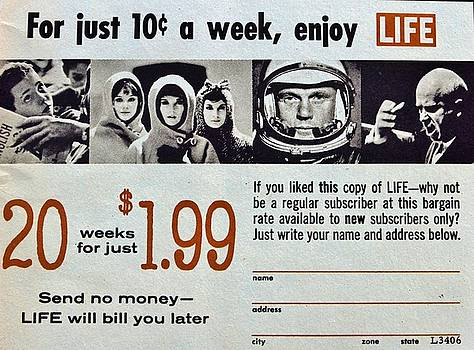 Enjoy Life Ten Cent A Week by William Rockwell