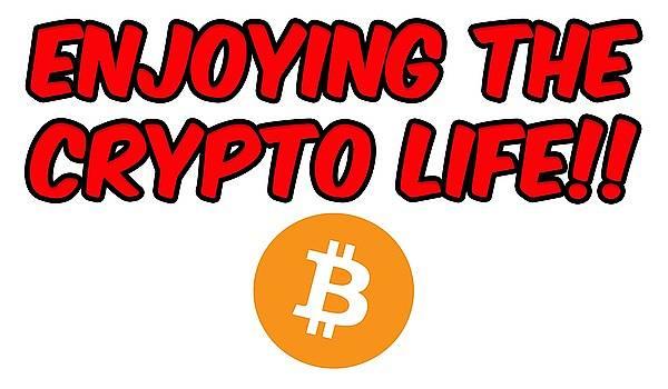 Enjoy The Crypto Life #3 by Britten Adams