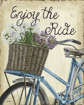 Enjoy the Ride Vintage by Debbie DeWitt