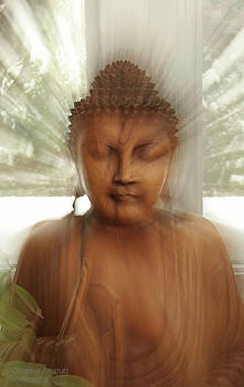 Enlightened Buddha by Christine Amstutz