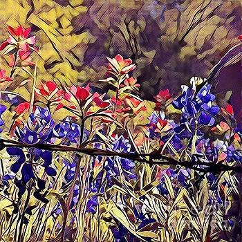 Ennis Bluebonnents by Diane Miller