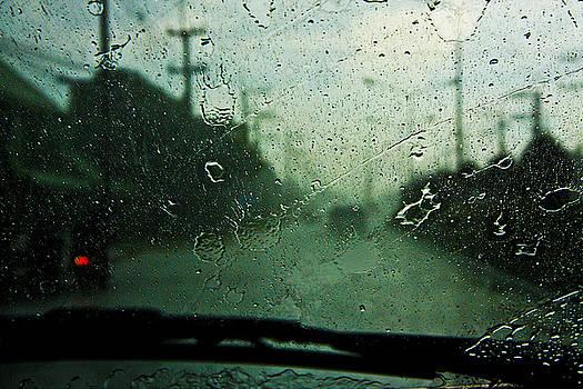 Enroute Downpour by Leo Bello