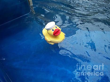 Ensign Rubber Ducky by Trisha Fawver