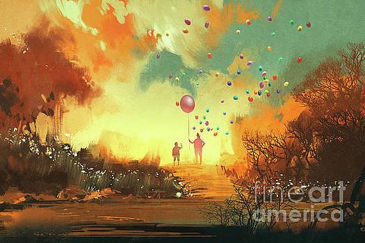 Enter the fantasy land by Tithi Luadthong