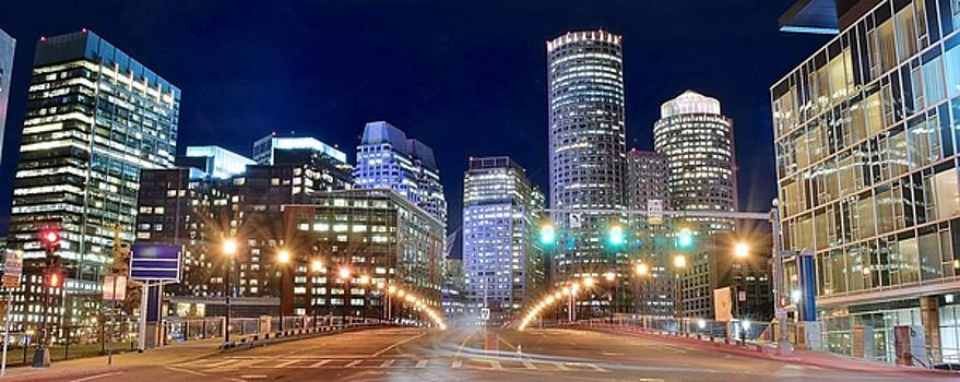 Frozen in Time Fine Art Photography - Entering Boston