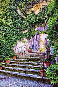 Entering Into Paradise Villa Cimbrone by Daphne Sampson