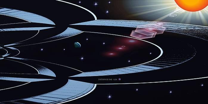 Enterprise One by Romuald  Henry Wasielewski