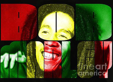 Bob Marley by Christos Koudellaris