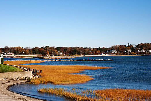 Entrance to Harbor Milford CT by Frank Feliciano