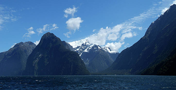 Entrance to Milford Sound by Brian Puyear
