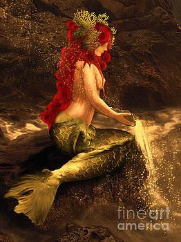 Entrust to the flow by Babette Van den Berg