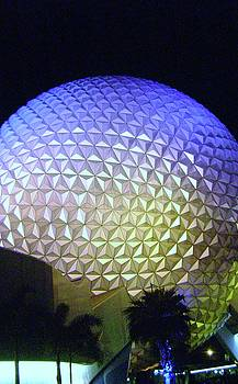Epcot at Night by Jessica Hoover