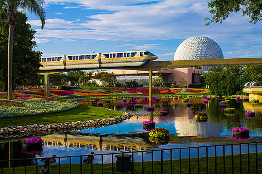 Epcot - Disney World by Michael Tesar