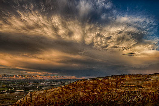 Epic Monument Sunset #1 by Dawn Morrow