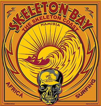 Epic Surf Designs Skeleton Bay Surfing by Larry Butterworth
