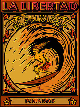 Epic Surf Designs Surf El Salvador by Larry Butterworth
