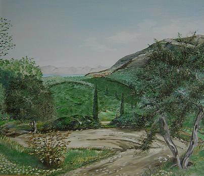 Episkepsi village by Anna Witkowska
