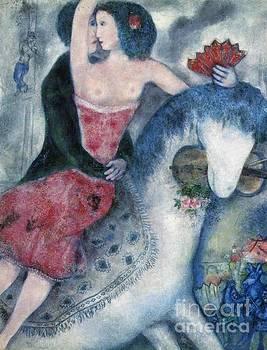 Marc Chagall - Equestrienne 1931
