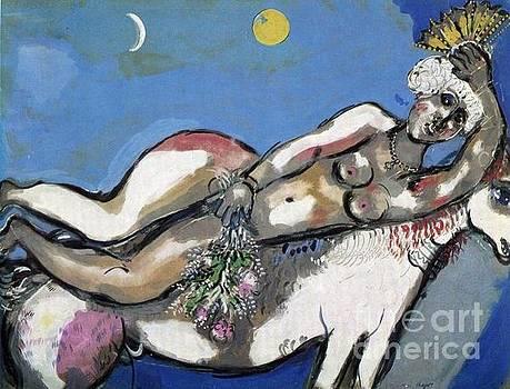 Marc Chagall - Equestrienne