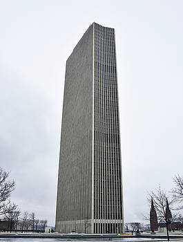 Erastus Corning Tower in Albany New York by Brendan Reals