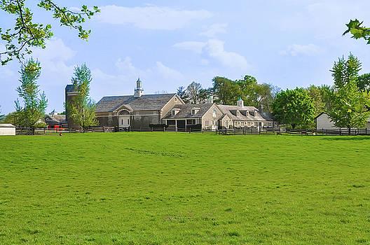 Erdenheim Farm - Whitemarsh Montgomery County Pa by Bill Cannon