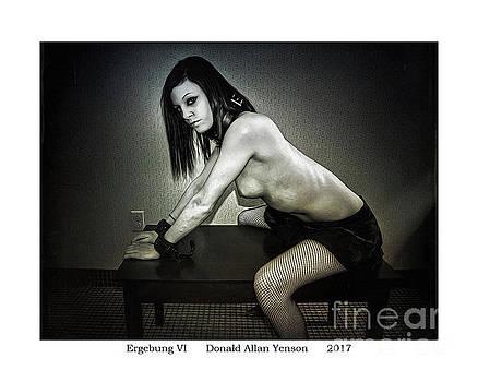 Ergebung VI by Donald Yenson