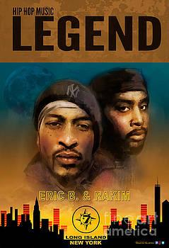 Eric B. and Rakim by Dwayne Glapion