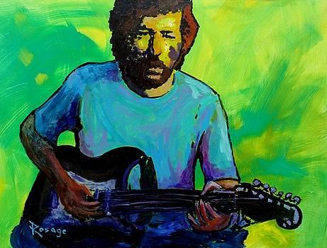 Eric Clapton by Bernie Rosage Jr