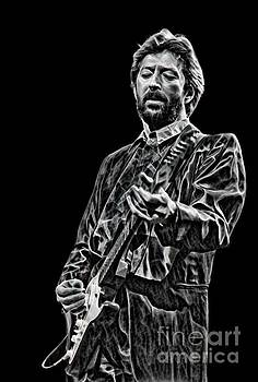 Eric Clapton Black and White by Pd