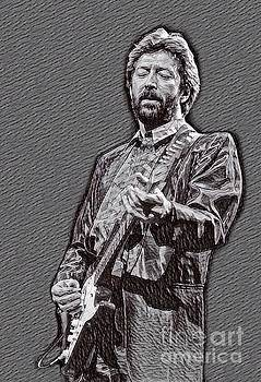 Eric Clapton Drawing by Eric Clapton Drawing