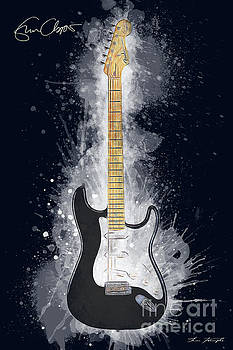 Eric Clapton Guitar by Tim Wemple