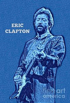 Eric Clapton Poster by Pd