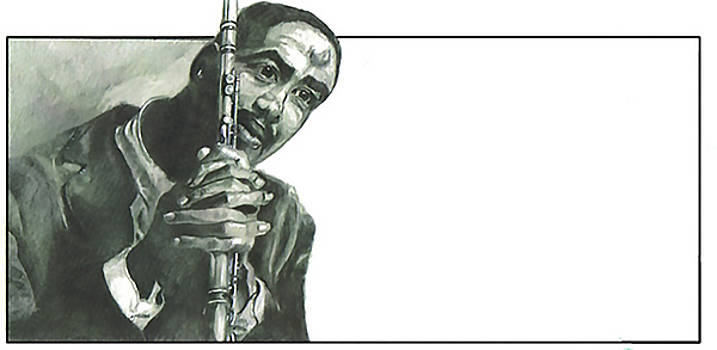 Eric Dolphy by Dwayne Lester