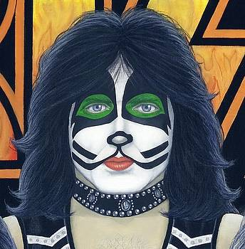 Eric Singer by Mark Barnett