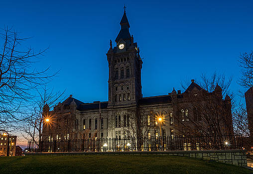 Chris Bordeleau - Erie County Hall Twilight