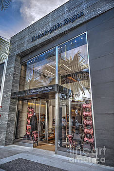 Ermenegildo Zegna boutique Beverly Hills by David Zanzinger