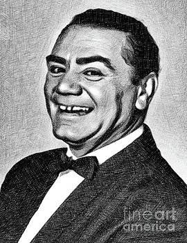 John Springfield - Ernest Borgnine, Vintage Actor by JS