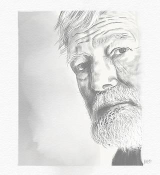 Ernest Hemingway by Antonio Romero